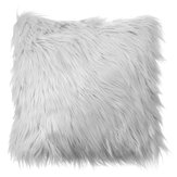 40x40 Faux Lã Capa de Almofada De Pele Fofo Soft Plush Throw Pillow Caso Home Decor