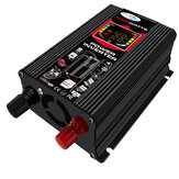 6000W 110 V / 220 V Inverter per auto onda sinusoidale modificata Inverter con Colorful LCD Display Ventole di raffreddamento Doppia porta USB