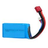 144001 A959-B A969-B A979-B 1/18 RC Araba için WLtoys 7.4V 1500mAh 25C 2S Lipo Batarya T Plug