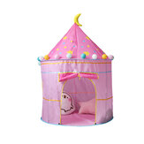 Kinderen spelen Tent Girl Folding Princess Castle Kids Game Tent Camping Travel Home