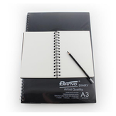 Bianyo Hard Surface Sketch Notebook Special Picture Book A3 A4 A5 Book