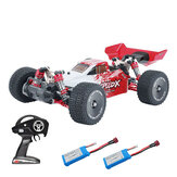 XLF F16 RTR with Two/Three Battery 1/14 2.4G 4WD 60km/h Metal Chassis RC Car Full Proportional Vehicles Model