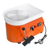 Máquina eléctrica de la rueda de la cerámica de 110V 250W Cerámico trabajo del arte del arte de la arcilla DIY