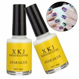 Weißleim Nail Art Transfer Tipps Adhesive Galaxy Star Foil Sticker 16ml