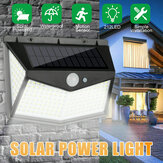 212 LED Solar Power Street Light PIR Motion Sensor Wall Lamp Outdoor Garden Path Yard Lighting