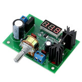 LM317 Adjustable Voltage Regulator Step Down Power Supply Module LED Meter