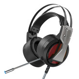 BlitzWolf® BW-GH1 Gaming Headphone 7.1 Surround Sound Bass RGB Game Headset dengan Mic untuk Komputer PC PS3/4 Gamer