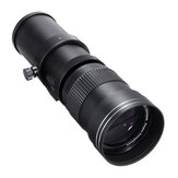 IPRee® 420-800mm F/8.3-16 Super Telephoto Lens Manual Zoom Lens + T-Mount For Canon For Nikon For Sony For Pentax SLR DSLR Camera