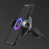 Shunzao 15W Fast Charging Wireless Car Charger Phone Holder For iPhone X XR XS Max Mi8 Mi9 Pocophone S9 S10 S10+ From Eco-system