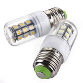 E27 LED Lampen 12V 3W 27 SMD 5050 Weiß / Warmweiß Corn Light