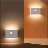 Hualai Xiaofang LED Sensore di movimento con collegamento intelligente Luce notturna Ricaricabile Wireless a risparmio energetico LED Induzione del corpo lampada per camera da letto Bagno Decorazioni per la casa