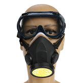 Gas Cover Paint Máscara Filtro Químico Antipó de Segurança Para Óculos de Olhos