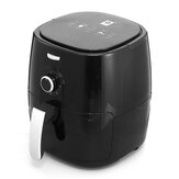 Air Fryer 5/2.5L Large Capacity 1350W Electric Hot Air Fryers Oven Oilless Cooker 360°Cycle Heating Nonstick Basket