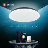 OFFDARKS Современный LED Умный потолочный светильник LXD-WF-NXY48 48 Вт Wi-Fi / APP Smart Control RGB Затемняющий кухонный потолок спальни Лампа 220В / AC
