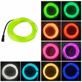 10m DC3V Auto EL Wire Neon Light LED Flessibile Soft Tube Rope Strip lampada Decorazione auto Illuminazione con custodia Batteria