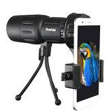 Boshile 10x42 HD BAK4 Monocular Night Vision Waterproof Telescope Birdwatching Spotting Scope