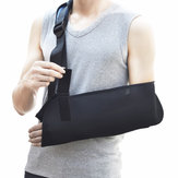 IPRee®1PcsDukunganLenganBahu Adjustable Protector Braces Pain Relief Soft Padded Sports Protective Gear