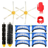 12pcs Replacement Brushes Filter Kit for 600 Series Vacuum Cleaner
