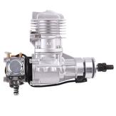DLEガソリンエンジンDLE20RA20CC単気筒2ストロークリアエキゾースト空冷ハンドスタート、点火およびRC飛行機用エキゾーストパイプ