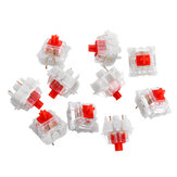 10PCS Pack 5 Pin Gateron Silent Red Switch Mechanical Switch for Mechanical Gaming Keyboard