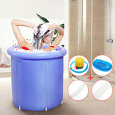 Inflatable Bathtub Portable PVC  Plastic Tub Folding Water Place Room Spa Massage Bath
