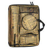 Thick Canvas 4K Drawing Board Bag Multifunctional Shoulder Backpack Waterproof Hand Carry Bag Artist Painting Supplies