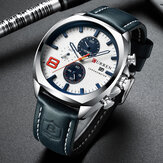 CURREN 8324 Chronometer Casual Style Male Sport Watch