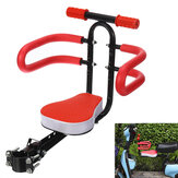 Black/Red Bicycle Seat Detachable Foldable Safety Seat Non-Slip Handle