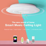 OFFDARKS Smart Ceiling Light LXD-XG36-SP WIFI Voice Control Bluetooth Speaker APP Remote Control Bedroom Kitchen Music Ceiling Lamp