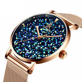 IK Colouring IK028 Fashion Style Gypsophila Dial Ladies Magnetic Watch Ultra Thin Quartz Watch