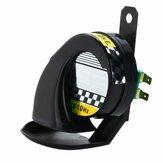 12V 130dB Electric Snail Horn Air Siren Loudspeakers For Truck Car Motorcycle Waterproof