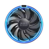 Pccooler 12cm 4Pin LED Blue Aperture CPU Cooling Fan PWM Silent Cooler Radiator For Intel LGA AMD