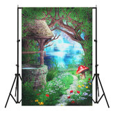 5x7ft Vinyl Fairy Tale Houwse Photography Backdrop Background Studio Photo Prop