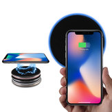 Bakeey Qi Wireless Charger With LED Light For iPhone X 8 8Plus Samsung S8 S7 Edge Note 8