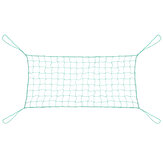 Rede de treliça de jardim de nylon Escalada Bean Planta Net Grow Fence Green Support
