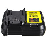 Smart Battery Charger for D EWALT Battery DCB112/105 12V MAX and 20V MAX Lithium-ION