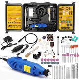 173Pcs Grinding Carving Tool Kit Mini Drill Set Electric Grinder Polishing Machine Craft Grinding
