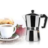 Espresso moka alumínio Latte percolators café café pote coador de fogão