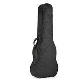 26 pulgadas negro ukelele Bolsa Soft Caso Bolsa Fot guitarra instrumentos musicales
