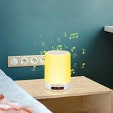 Escritorio pequeño DIGOO DG-663 Touch Sense Lámpara Carga USB Bluetooth Altavoz Luz nocturna para decoración de dormitorio Luz colgante de viaje