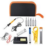 220 V 60 W Lehimleme Demir Kit Elektronik Kaynak Demir Parçalar Ayarlanabilir Sıcaklık
