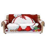 1/2/3 мест Рождественский коврик для дивана с 3D принтом, чехол для дивана, чехол для стула, протектор для домашнего офиса, мебель, украшения