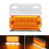 1PC 24V 15 LED Luce di posizione della luce di posizione posteriore a terra lampada Rimorchio per camion Caravan Van