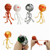 Alien ET Skelet Squishy Squeeze Rubber Waterbal Stress Reliever Decomprimeren Toy Gift