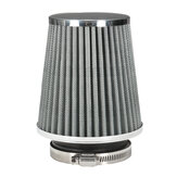 3Inch 75mm Car Air Filter Clean Intake High Flow Short RAM/COLD Round Cone Heavy Metal Alloy
