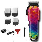 SHINON rétro huile tête électrique tondeuse Colorful tondeuse à cheveux rechargeable tondeuse à cheveux Machine de coupe de cheveux coupe de cheveux barbe trimmer