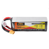 ZOP Power 11.1V 7500mAh 35C 3S Lipo Battery XT60 Plug for RC Quadcopter Car