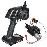 WPL 3CH Engrenagem de Mudança de Velocidade Caixa E Transmissor De Rádio Para B1 B24 B16 C24 1/16 4WD 6WD Rc Car