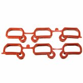 5pcs Engine Intake Manifold Gasket Repair Replacement Set Victor Reinz OEM 36631 For BMW E36 E39 E46