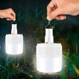 Tragbare Außenleuchte wiederaufladbar LED Nachtlichtbirne Batterie Angetrieben